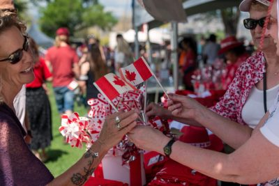 Special Event photoshoot at Canada Day in Kamloops, BC