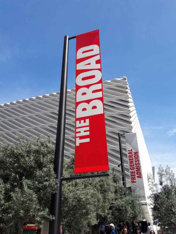 Olson Visual Creates Brilliant Marquee And Banner Graphics Broad Art Museum