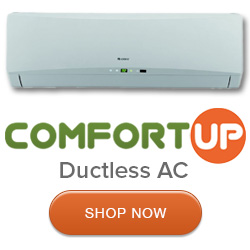 Review Comfort Up : The #1 Seller of Ductless Mini Split Air Conditiners and Heat Pumps to Homeowners in America