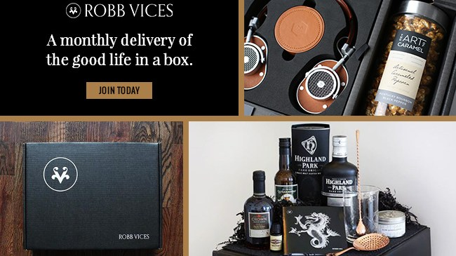 Review Robb Vices – Delivery of Good Life in Box