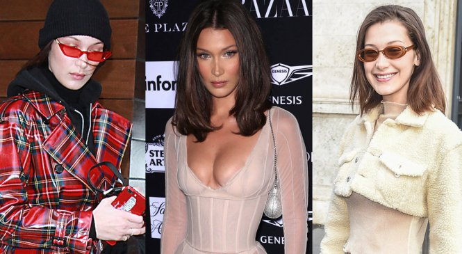 21 of Bella Hadid's wildest outfits that show off her daring style
