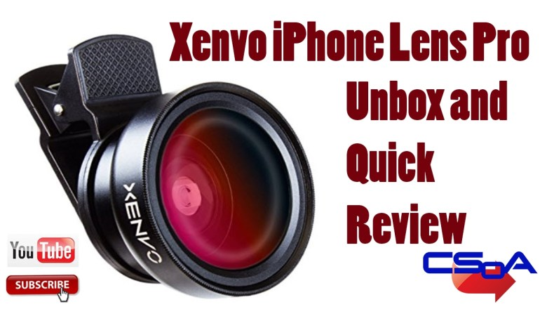 Xenvo iPhone Lens Pro unboxing and product review [UPDATED]