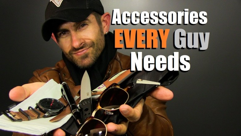 10 Accessories EVERY Guy Needs | Men's Accessory Must Haves