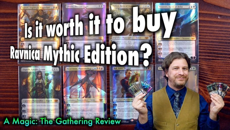 Is it worth it to buy a Guilds of Ravnica Mythic Edition? A Magic: The Gathering Product Review