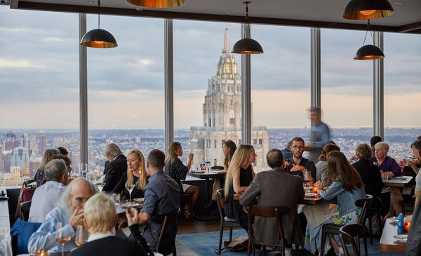 At Danny Meyer's Manhatta, Only the View Tries to Dazzle