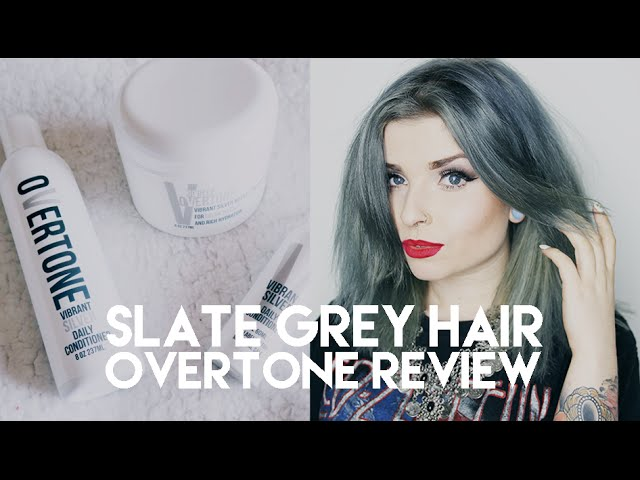 How to get Slate Grey Hair | Overtone Honest Product Review