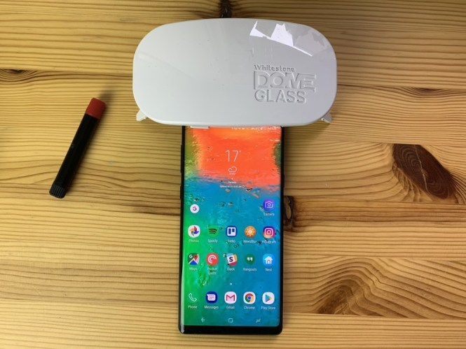 Whitestone Dome Glass Screen Protector for Note 9 review: The clear winner