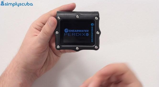 Shearwater Perdix Dive Computer Review