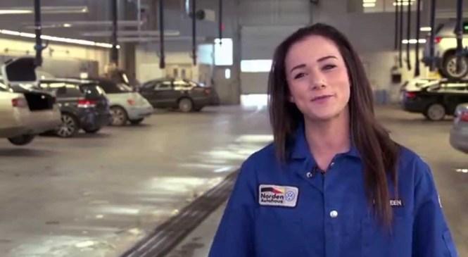 Automotive service technician apprentice spends scholarship on tools