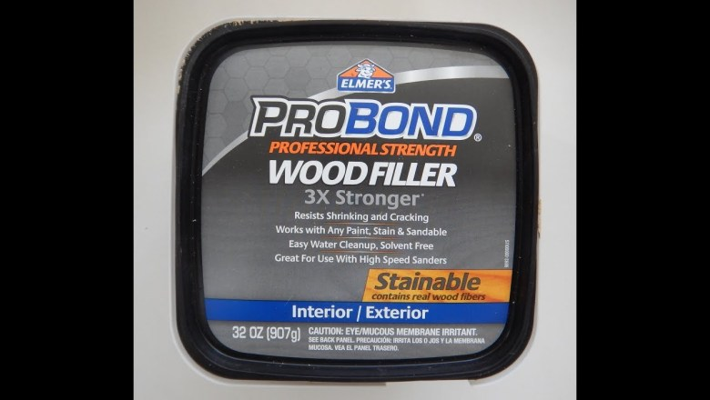 Elmer's Pro Bond Wood Filler – Real World Product Review