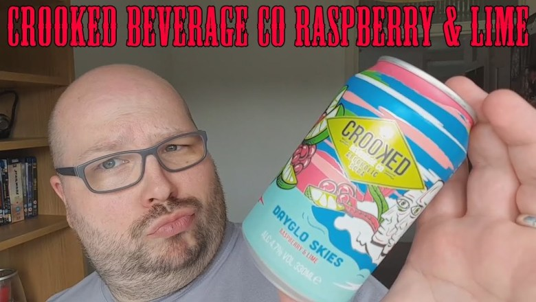 Crooked Beverage Company Raspberry Lime Alcoholic Soda Review