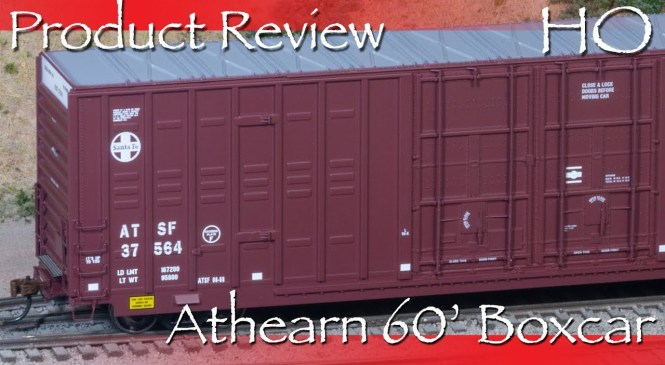 Product Review HO Athearn 60′ Berwick Boxcar