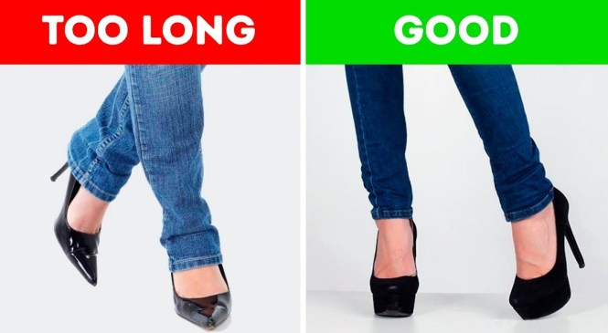 30 BRILLIANT FASHION TIPS FOR CLOTHES AND SHOES