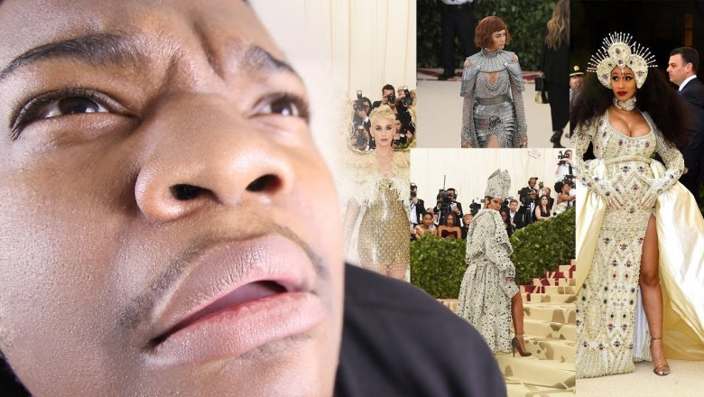 The Met Gala happened and now I'm wet (Fashion Review & Roast)