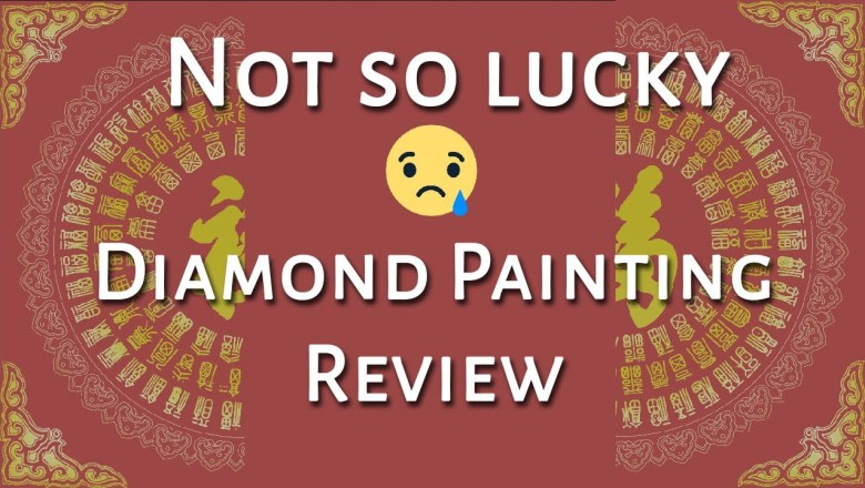 Chinese Good Luck Diamond Painting | Product Post Review
