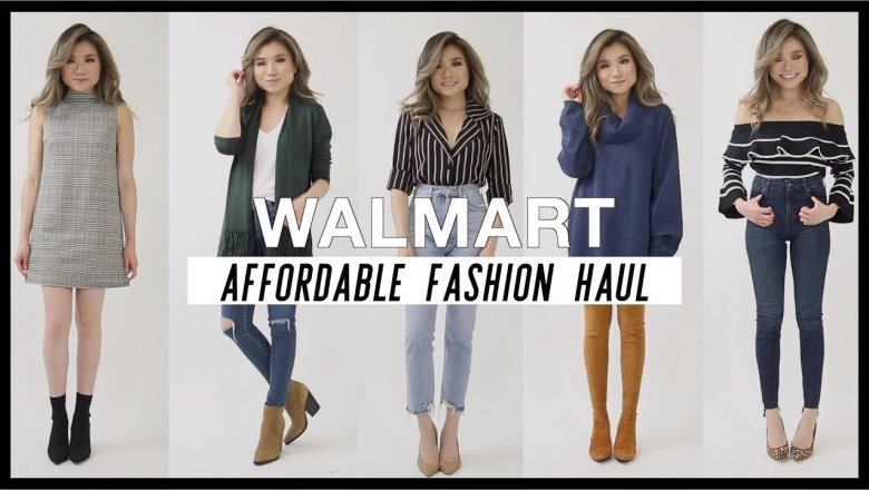 Walmart Affordable Try On Fashion Haul | Walmart Fashion Clothing Review | Miss Louie
