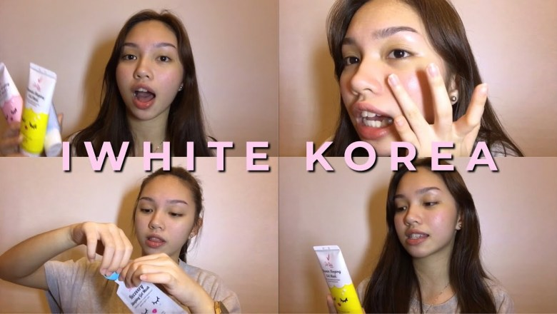 PHP25 FACE MASK?!?!   PRODUCT REVIEW: iWhite Korea Sleeping Mask Line