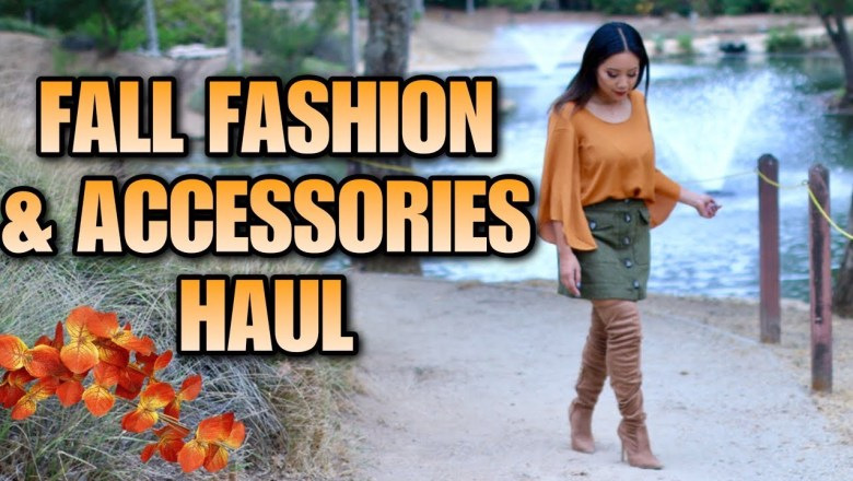 Fall Fashion & Accessories Haul! – Discovery Clothing, Lauren Conrad, Q, Marshalls, Starbucks, H&M