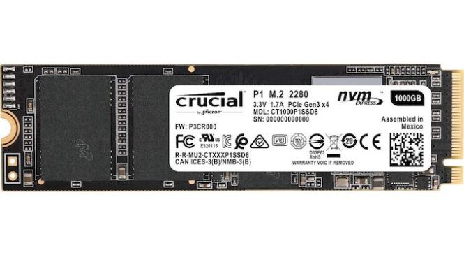 The Crucial P1 1TB SSD Review: The Other Consumer QLC SSD