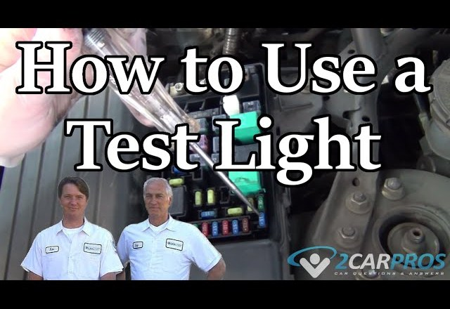 HOW TO USE AN AUTOMOTIVE TEST LIGHT TO FIND PROBLEMS!!