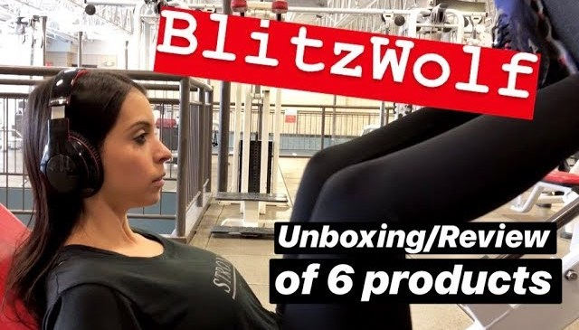 BLITZWOLF 6 PRODUCTS REVIEW/UNBOXING | Amanda Araujo | Canada