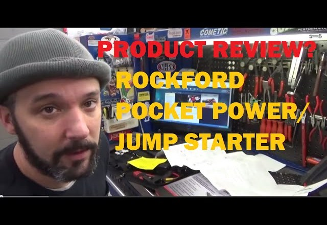 PRODUCT REVIEW: Rockford Pocket Power Jump Starter  RFDPPJS2976DLX