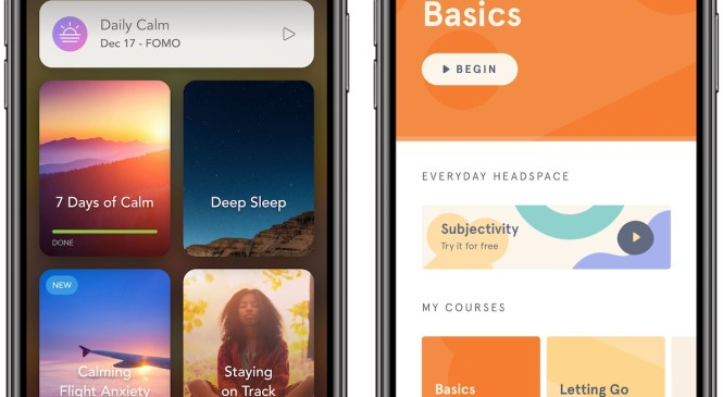 'Calm' Became Top Meditation App After Apple's 2017 App of the Year Award, 'A Touchy Subject' at Rival Headspace