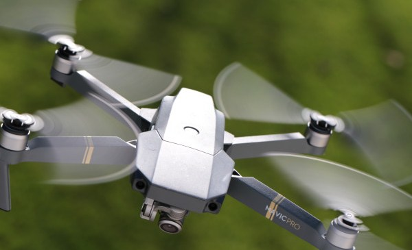 Drones ground flights at UK's second largest airport