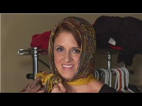 Scarf Fashion Accessories : How to Tie a Head Scarf Like in the 1920s