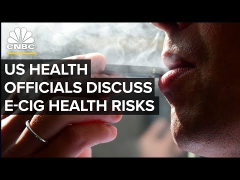 Top US Health Officials Hold News Conference on E-Cigarettes – Dec. 18, 2018