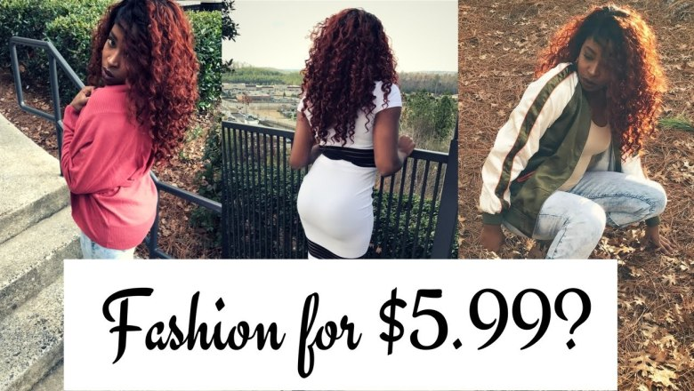 599 Fashion Review/Try-On | BUDGET SLAY ALERT!!