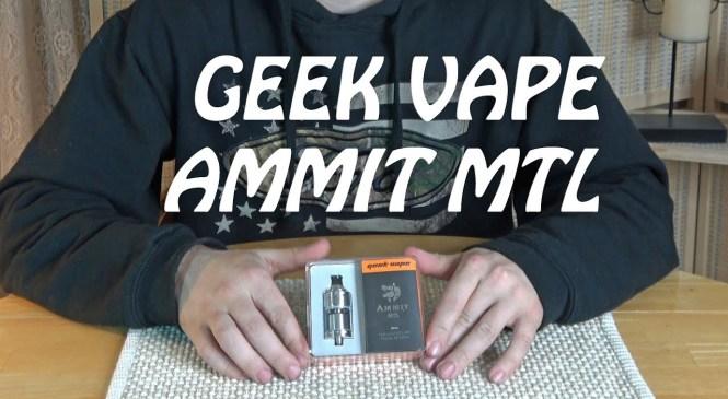 Ammit MTL GEEK VAPE | Vape Product Review 