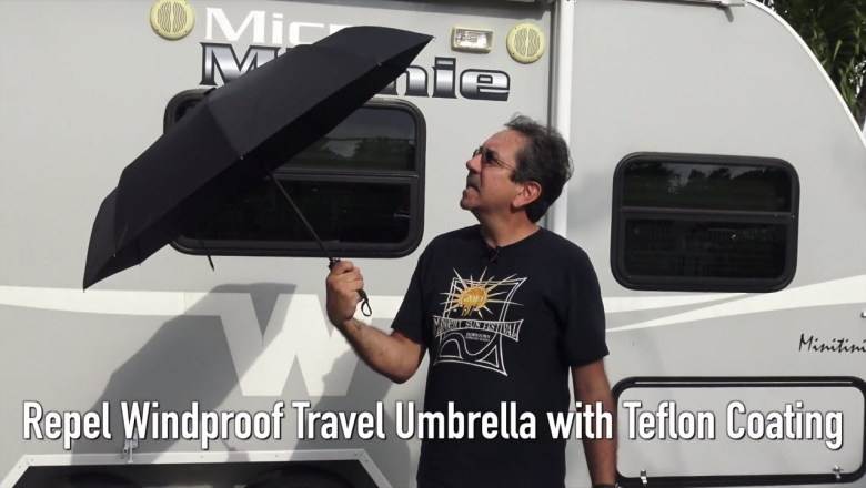 Product Review – Repel Windproof Travel Umbrella with Teflon Coating
