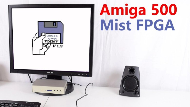 Amiga 500 Mist FPGA Computer Review and Tutorial
