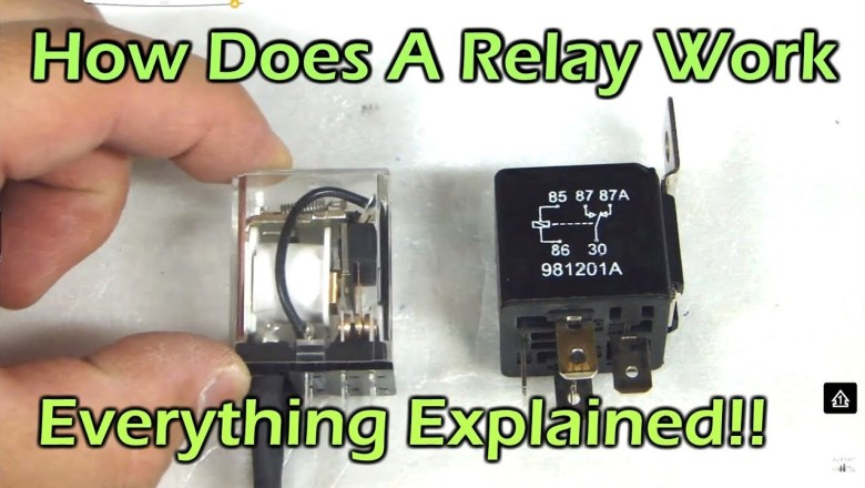 How Does A Relay Work – SPDT DPDT SPST Automotive Relay