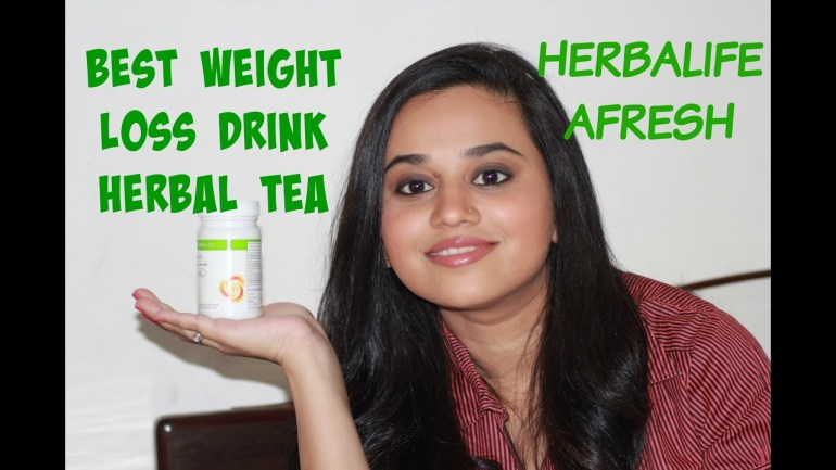 Review Herbalife Afresh   Best Weight Loss Drink   Quick Weight Loss