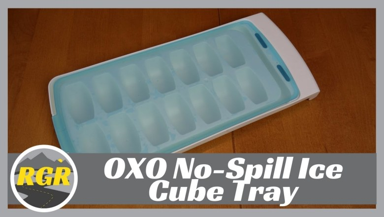 OXO No-Spill Spillproof Ice Cube Tray   Product Review   Travel Ice cube tray