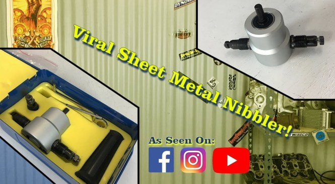 Facebook Viral Sheet Metal Nibbler Drill Attachment – Product Review – Now Under $15