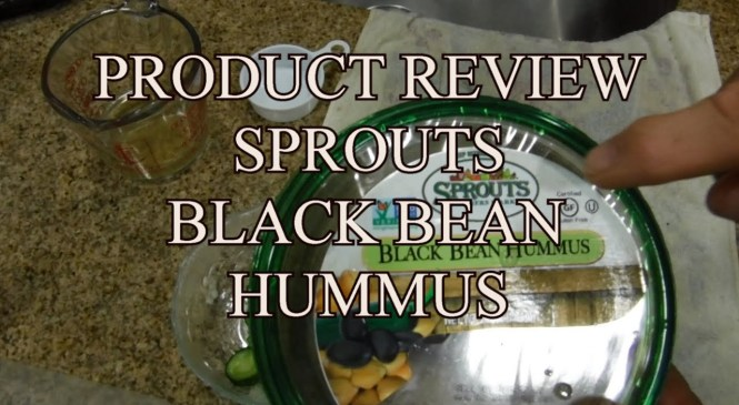 Product Review Black Bean Hummus