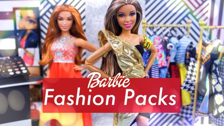 Unbox Daily: ALL NEW Barbie Fashion Packs PLUS Mix & Match Accessories & more!!
