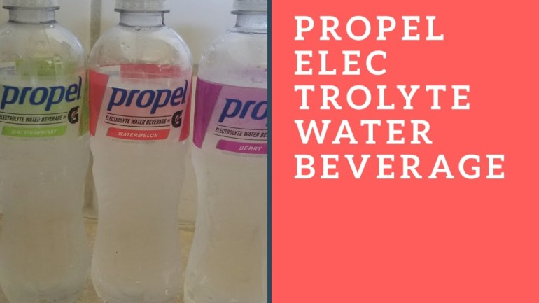 Propel electrolyte water beverage taste test review
