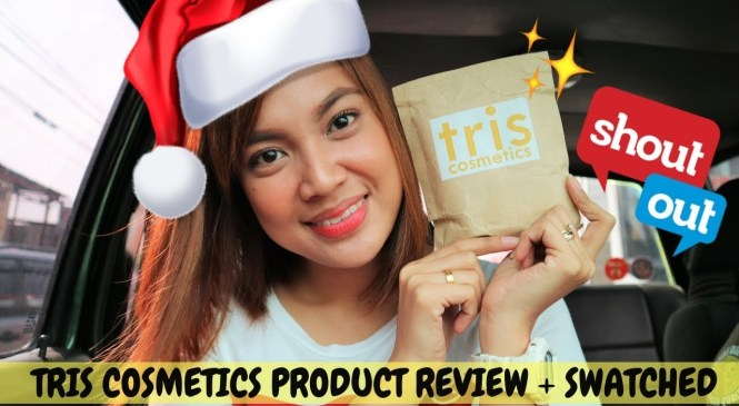 TRIS COSMETICS PRODUCT REVIEW + SWATCHED (CRUELTY FREE & PARABEN FREE) | STEPHANIE ANNE