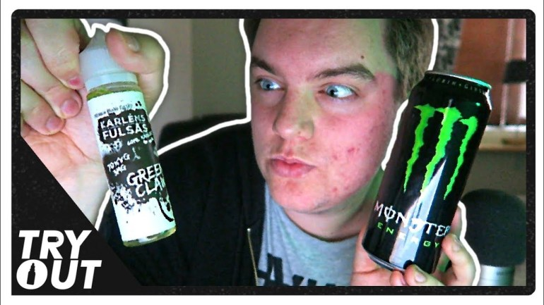 Green Monster Energy Drink E-Juice (Taste Test / Review)   Tryout.