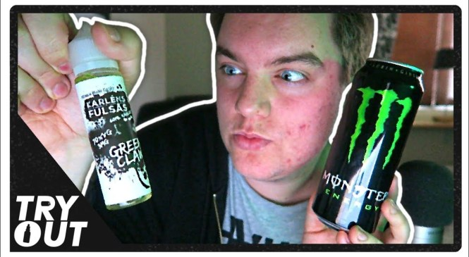Green Monster Energy Drink E-Juice (Taste Test / Review) | Tryout.