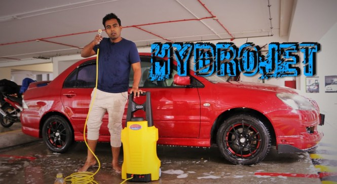 WASHING YOUR CAR? – Product Review Part 2 HYDROJET