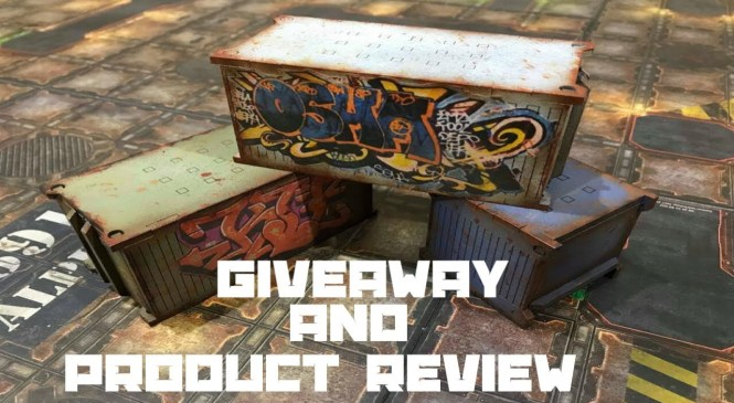 Giveaway and Product Review for Mad Gaming Terrain Warhammer 40k Kill Team.