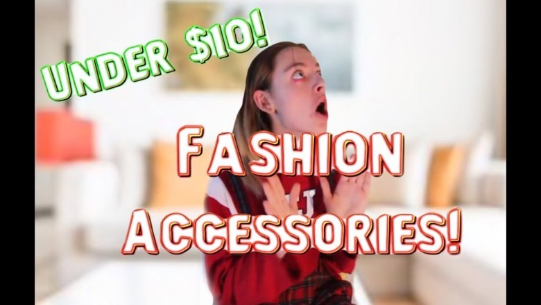 Top 5 Fashion Accessories for Under $10!