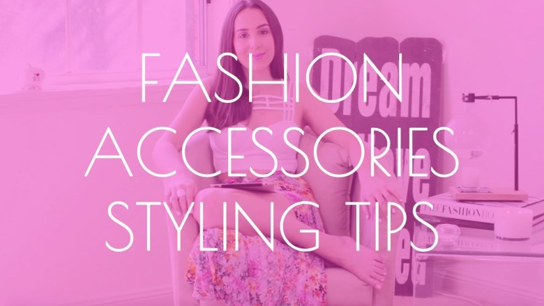 Fashion accessories: How to accessorize one outfit in multiple ways