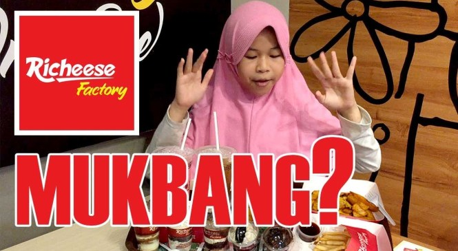 MUKBANG RICHEES FACTORY (NON AYAM) ❤ CHEESY & CREAM CAKE ❤ FOOD REVIEW ala AISYAH HANIFAH
