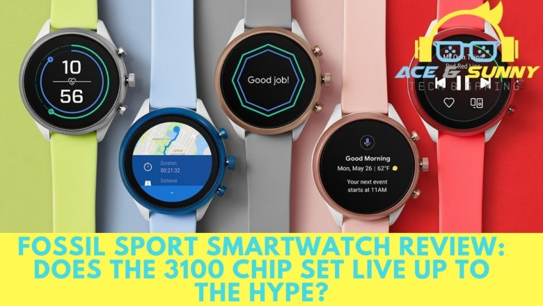 Fossil Sport Smartwatch Review: Does The 3100 Chip Set Live Up To The Hype?